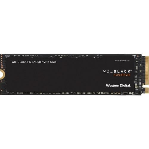 WD Black SN850 WDBAPY0010BNC-WRSN 1 TB Solid State Drive - M.2 2280 Internal - PCI Express NVMe (PCI Express NVMe 4.0 x4)
