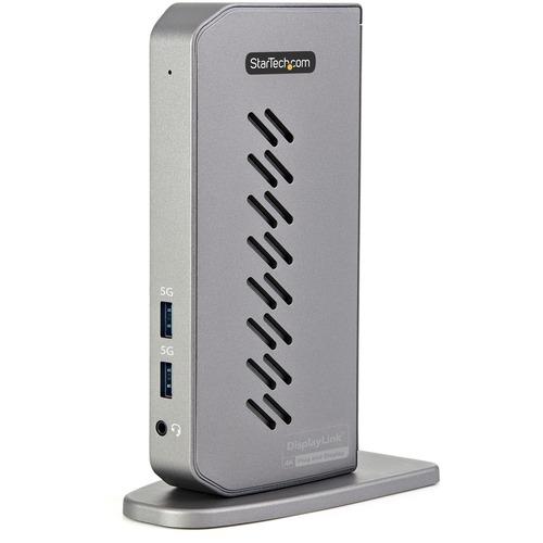 StarTech.com USB 3.1 (Gen 1) Type B Docking Station for Notebook/Monitor - USB Type-C - Network (RJ-45) - HDMI - DisplayPo