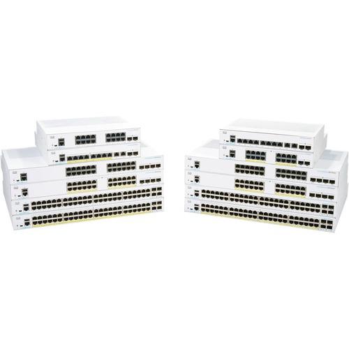 CBS250 Smart 24-port GE, PoE, 4x1G SFP