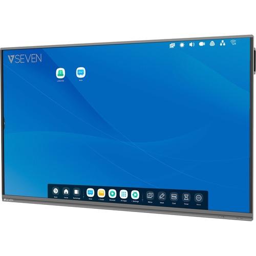 """Monitor de pantalla táctil LCD V7 Interactive IFP6502-V7 - 165,1 cm (65"""") - 16:9 - 8 ms - 1651 mm Class - Infrarrojos - 20"""