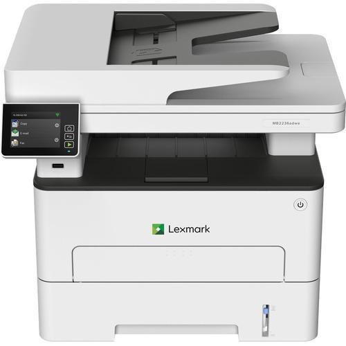Lexmark MB2236adwe Wireless Laser Multifunction Printer - Monochrome - Copier/Fax/Printer/Scanner - 34 ppm Mono Print - 24