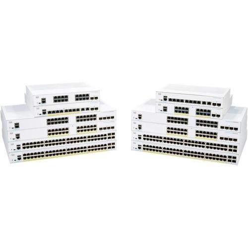 CBS350 Managed 24-port GE, 4x1G SFP