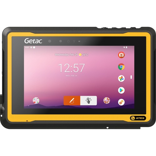 """Getac ZX70 G2-EX Rugged Tablet - 17.8 cm (7"""") HD - Octa-core (8 Core) 1.95 GHz - 4 GB RAM - 64 GB Storage - Android 10 - 4"""