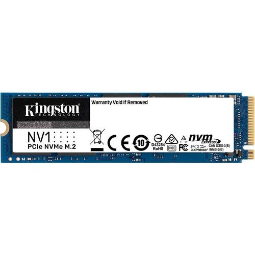 Unidad de estado sólido Kingston NV1 - M.2 2280 Interno - 500GB - PCI Express NVMe (PCI Express NVMe 3.0 x4) - Computadora