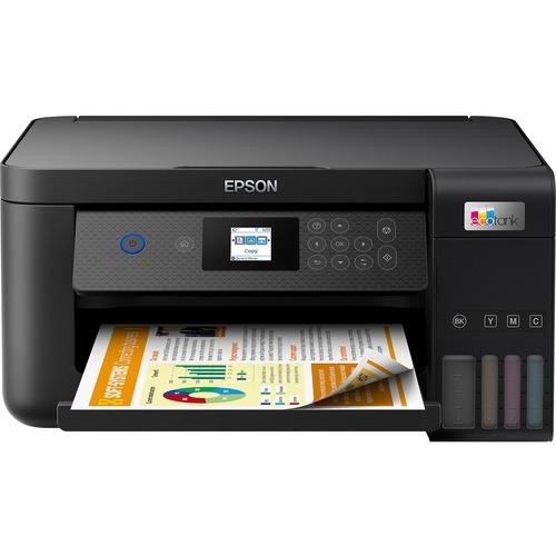 Epson EcoTank L4260 Wireless Inkjet Multifunction Printer - Colour - Black - Copier/Printer/Scanner - 33 ppm Mono/15 ppm C