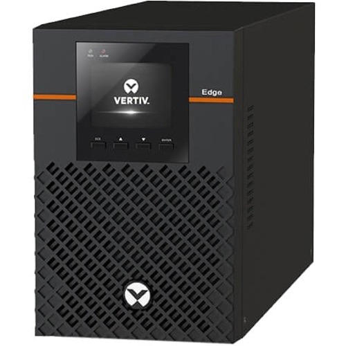 VERTIV EDGE EDGE-750IMT Line-interactive UPS - 750 VA/675 W - 1U Tower - AVR - 3 Hour Recharge - 5.90 Minute Stand-by - 23